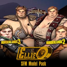 Borderlands: Ellie (Model + Prop Pack)