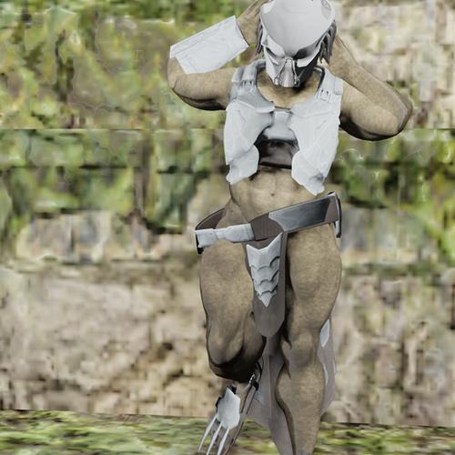 Thumbnail image for Yautja Female Upgraded Predator