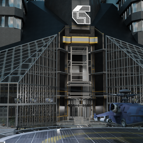 Thumbnail image for Tekken 7 G Corp Helipad Stage