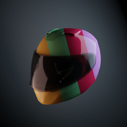 Thumbnail image for Motorcycle Helmet