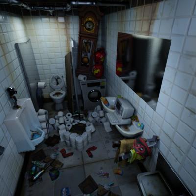 Thumbnail image for Fortnite: Deadpool's Bathroom