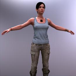 Metro 2033 | Anna [Nude, Blender]