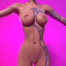 Borderlands | Maya [Nude, Blender]