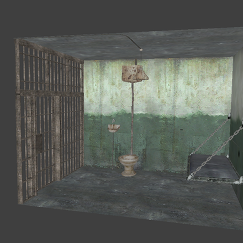 Thumbnail image for Single Jail Cell Prop