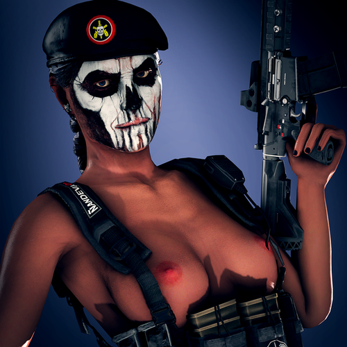 Thumbnail image for R6S - Caveira nude