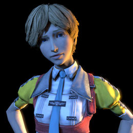 Final Fantasy XIII-2: Alyssa Zaidelle.