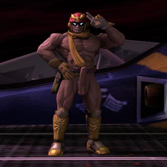 Thumbnail image for Nude Captain Falcon (Super smash bros. Brawl)