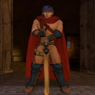 Thumbnail image for Nude Ike (Fire emblem/Super smash bros. Brawl)