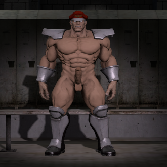 Thumbnail image for Nude M. Bison ( Street Fighter 5 )