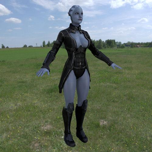 Thumbnail image for Liara T'Soni - Mass Effect 3 (Blender)