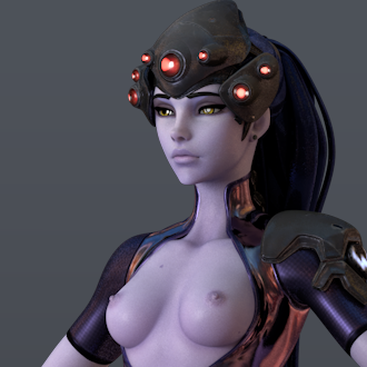 Thumbnail image for [Overwatch] Widowmaker for Cinema 4d r19