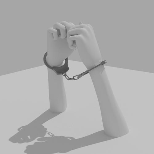 Thumbnail image for HAND CUFF (Rigged)