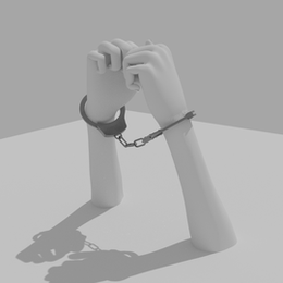 HAND CUFF (Rigged)
