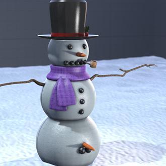 Thumbnail image for Barbell Snowman V1.1