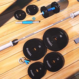 Thumbnail image for Barbells' Barbell Prop Pack V1.1