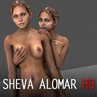 Thumbnail image for RE5 Sheva Alomar Nude HD