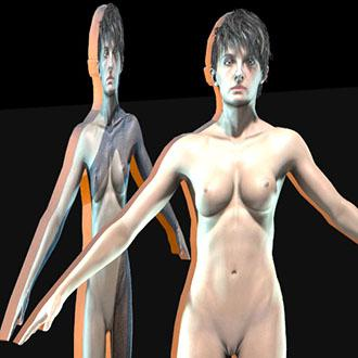 Thumbnail image for Barbell - Nude Zoe Baker Cardboard Cutout (April Fools Edt)
