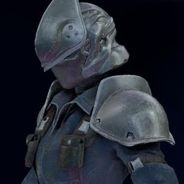 3rd Class Female SOLDIER (FF7R)