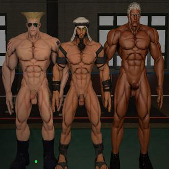Thumbnail image for Nude Guile Rashid and Urien