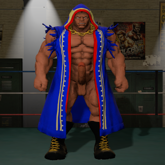 Thumbnail image for Nude Balrog ( Street fighter 5 )