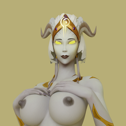 [World of Warcraft] Female Draenei
