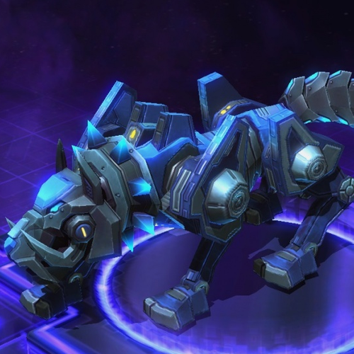 Thumbnail image for Heroes of the Storm: Mount - Cyber Wolf