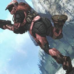 Halo: Reach Default Female Spartan With Big Butt