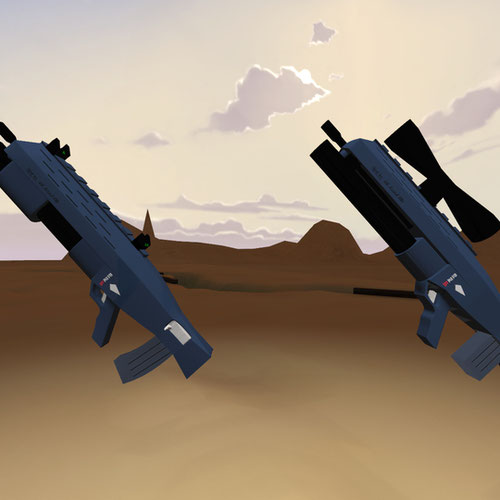 Thumbnail image for AAL Assault rifle
