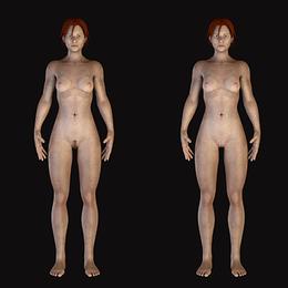 ARK: Survival Evolved Nude Female