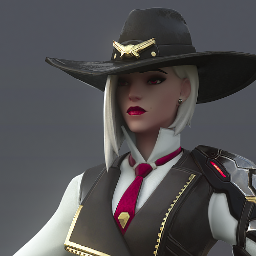 Thumbnail image for [Overwatch] Ashe Classic for Cinema 4D r20 [ Redshift 2.6.51 ]