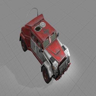 Thumbnail image for Red Humvee - Batman: Arkham Knight