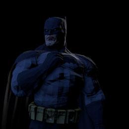 Batman (Arkham City - Dark Knight Returns skin)