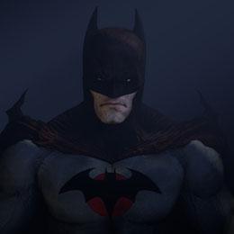 Batman (Arkham Origins - Flashpoint skin)