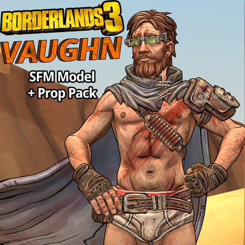 Thumbnail image for Borderlands 3: Vaughn (Model + Prop Pack) UPDATED 10/4/2020
