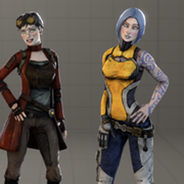 Borderlands 2's Maya and Patricia Tannis