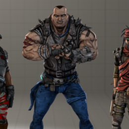 Borderlands Crew (Minus Lilith) - Borderlands 2