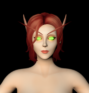 Thumbnail image for [C4D][Warcraft] Blood Elf Female