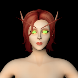 [C4D][Warcraft] Blood Elf Female