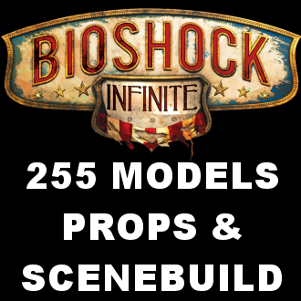 Thumbnail image for Bioshock Infinite Props & Scenebuilding Pack - 255 Models