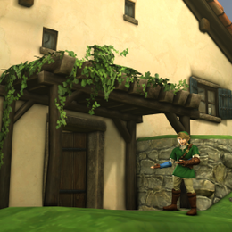 BOTW Link's House