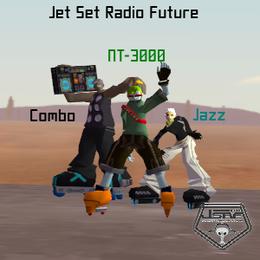 Jet Set Radio Future: Combo, Jazz, and NT-3000