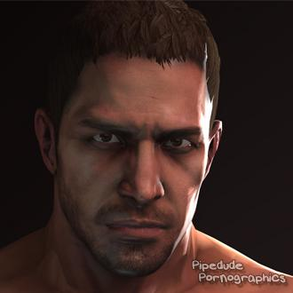Thumbnail image for [Resident Evil 6] Chris Redfield nude