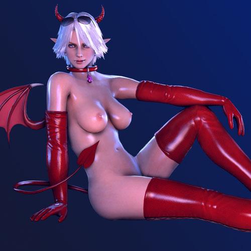 Thumbnail image for DoA5 - Christie - Halloween costume