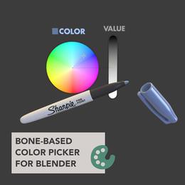 Bone-Based Color Picker for Blender 2.8+