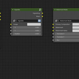 Misc Blender Compositor Nodes.