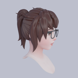 Making OverWatch Styled Hair