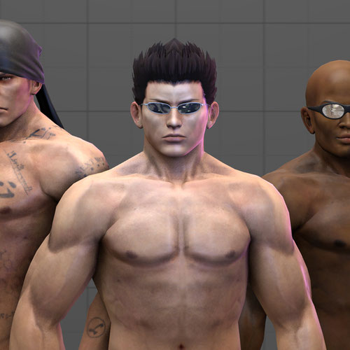 Thumbnail image for DOA Nude Male pack