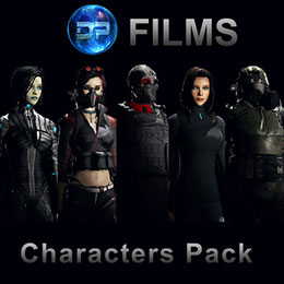 DP Films Character Pack