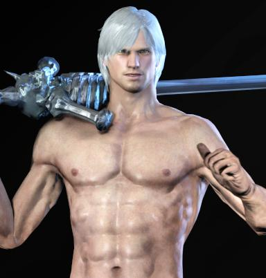 Thumbnail image for Dante Nude Model (Devil May Cry 4)