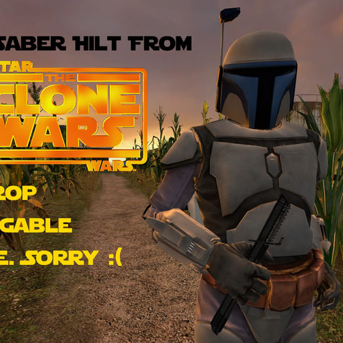 Thumbnail image for Star Wars: The Clone Wars - Darksaber Hilt